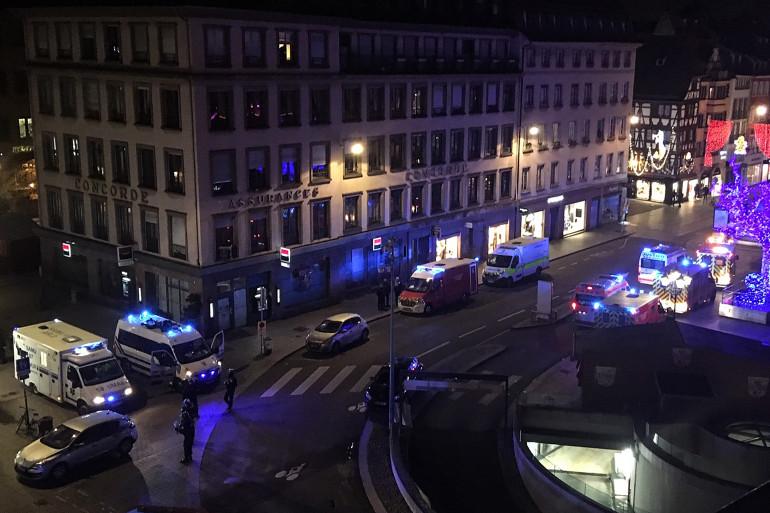 Une fusillade a éclaté en centre-ville de Strasbourg, le 11 décembre 2018