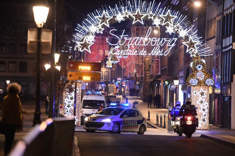Le marché de Noël de Strasbourg le mardi 11 décembre 2018 après la fusillade