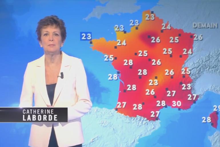 """Catherine Laborde fait un clin d'oeil à son ancien métier de présentatrice météo dans """"La planète est-elle (vraiment) foutue ?"""""""