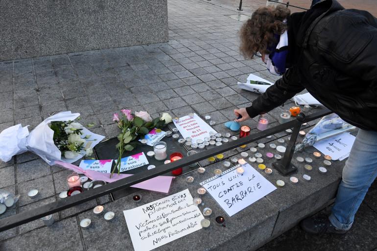 Fusillade à Strasbourg : le temps est au recueillement pour les habitants