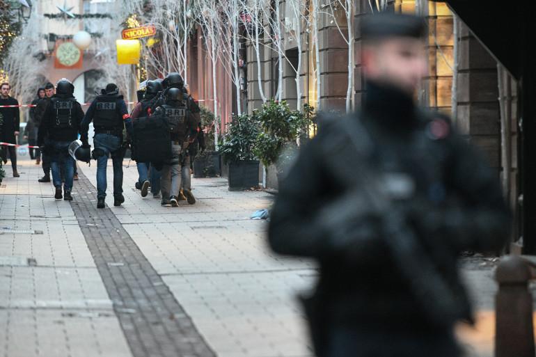 Strasbourg : les forces de l'ordre très présentes dans la ville après l'attaque du 11 décembre