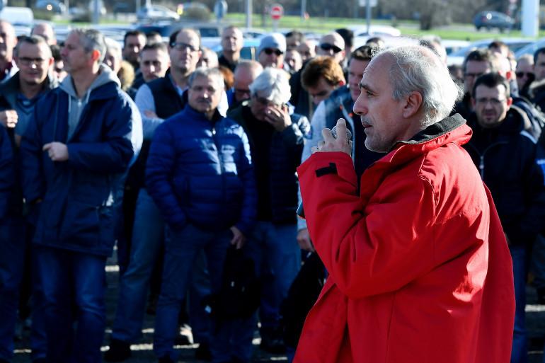 Philippe Poutou est délégué CGT de l'usine Ford de Blanquefort.