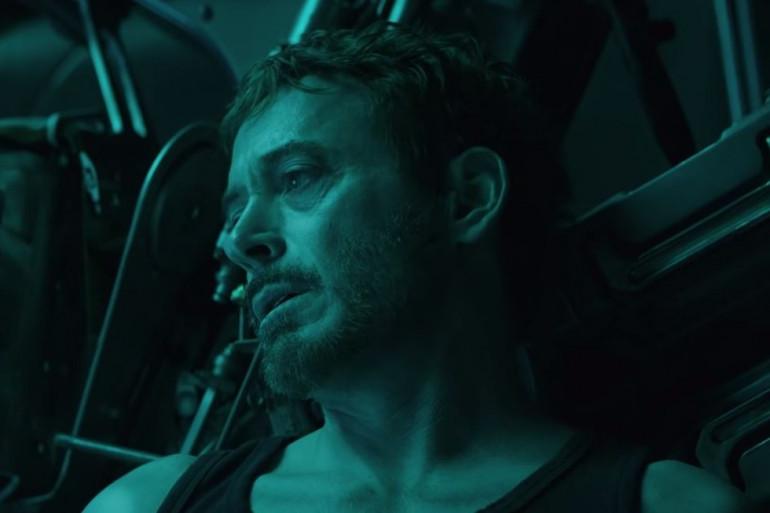 Iron Man en grande détresse dans l'espace