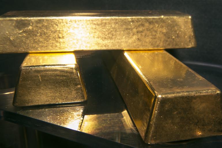 Des lingots d'or (illustration)