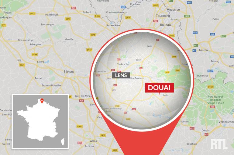La ville de Douai dans le Nord (Hauts-de-France)