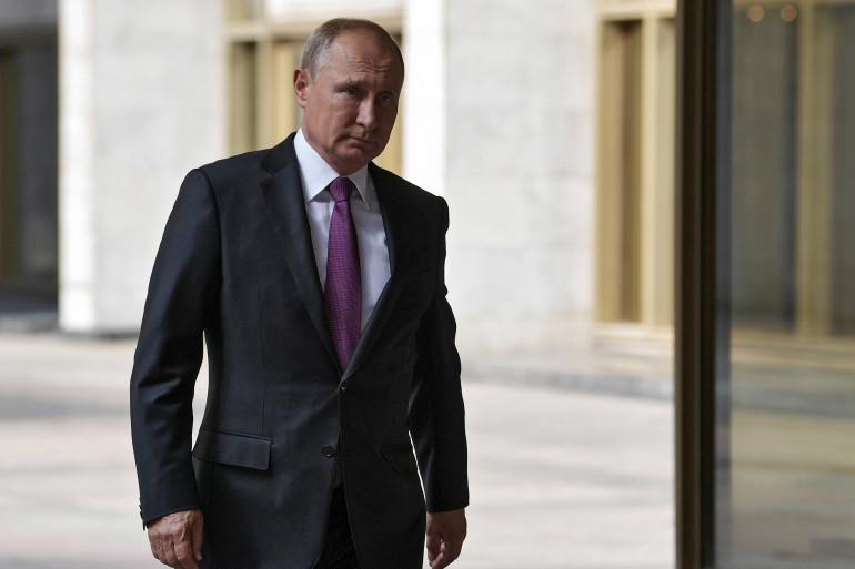 Le président russe Vladimir Poutine le 9 septembre 2018.
