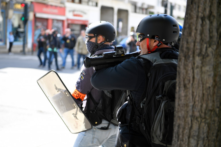 Les LBD ont occasionné des blessures à de nombreux manifestants