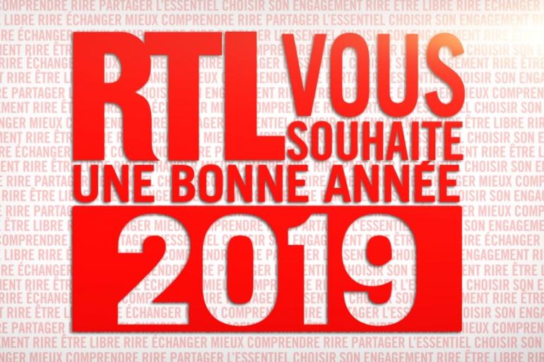 RTL vous souhaite une bonne année 2019