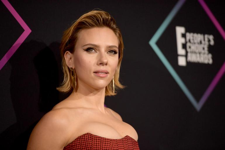 Scarlett Johansson lors de la soirée de People Choice Awards, le 11 novembre 2018