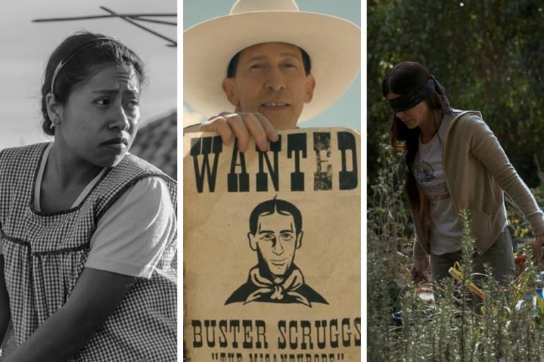 """""""Roma"""", """"La Ballade de Buster Scruggs"""" et """"Bird Box"""", films Netflix"""