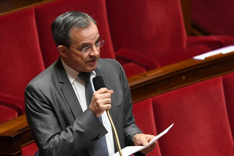 Thierry Mariani, le 14 février 2017 à l'Assemblée nationale.