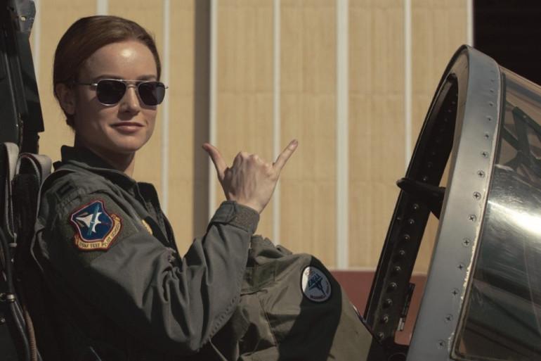Brie Larson dans le rôle de Captain Marvel