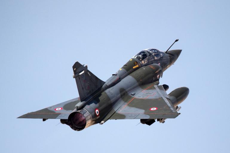 Un Mirage 2000D de l'armée française