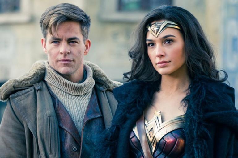 """Chris Pine et Gal Gadot dans """"Wonder Woman"""""""