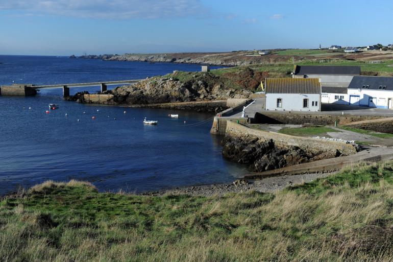 L'île d'Ouessant, dans le Finistère.