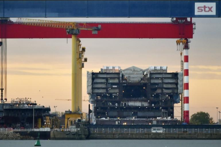 STX Saint-Nazaire : la fusion avec l'italien Fincantieri compromise