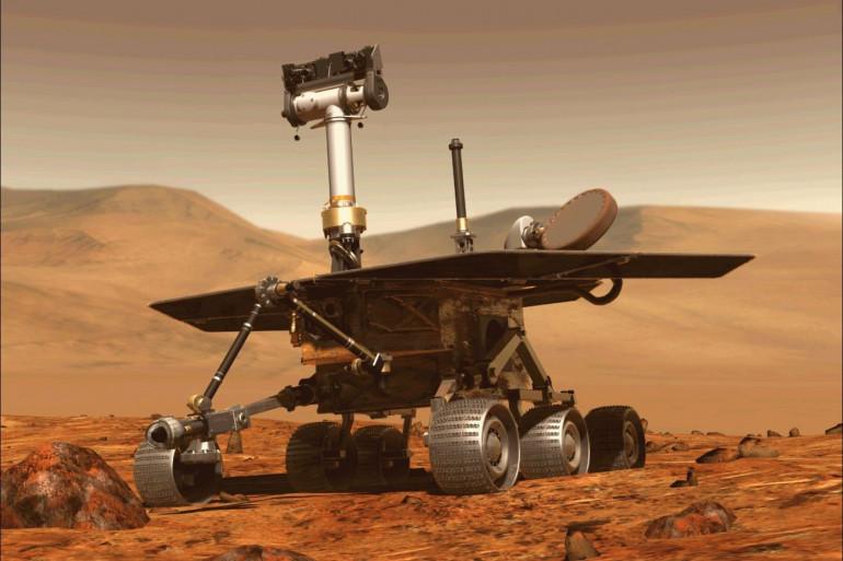 Le robot Opportunity envoyé sur mars n'avait pas donné de nouvelle depuis le 10 juin 2018