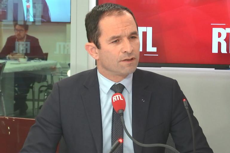 Benoît Hamon était l'invité de RTL.