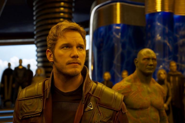 """Chris Pratt dans """"Les Gardiens de la Galaxie 2"""""""