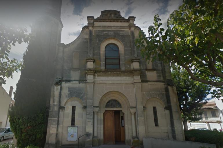 L'église située dans le quartier des Amoureux à Nîmes a été profanée
