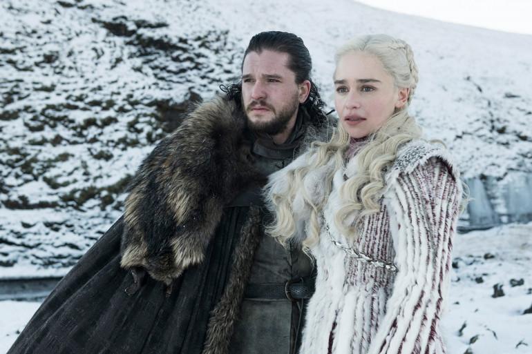 Jon Snow et Daenerys Targaryen