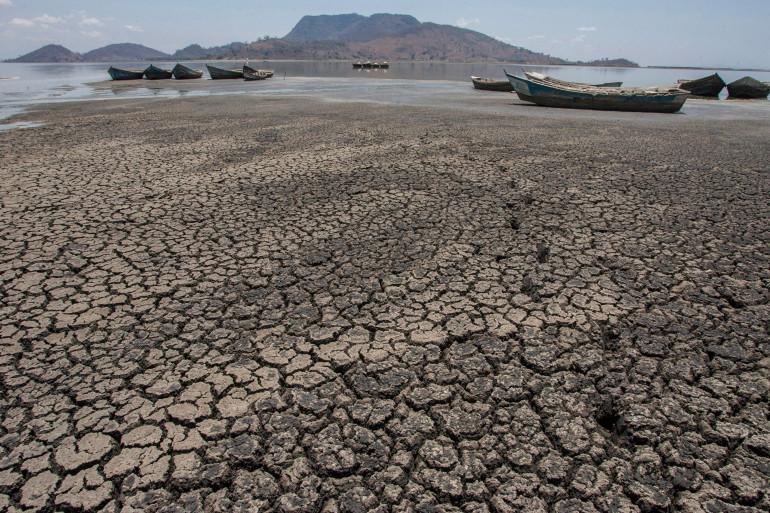 La sécheresse frappe durement le Malawi. Prise de vue d'octobre 2018