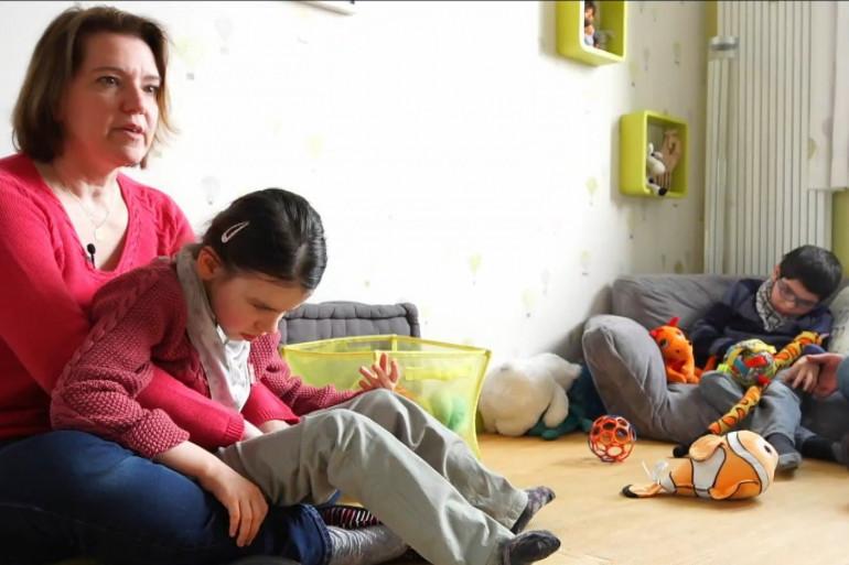 Isabelle et Bertrand ont deux enfant polyhandicapés
