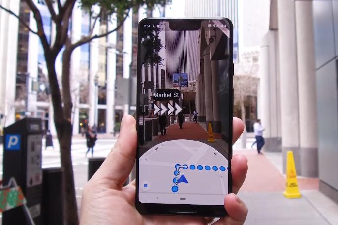 Google Maps va bientôt proposer de suivre des itinéraires en réalité augmentée