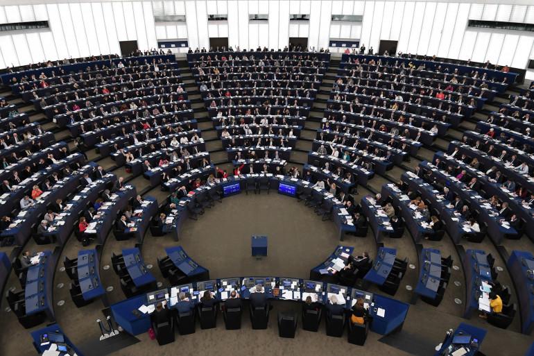 Le Parlement européen, le 14 novembre 2018 à Bruxelles.