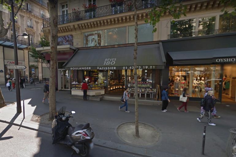 La boulangerie dans laquelle le policier a été empêché d'entrer par un des employés est situé rue du Temple, dans le IIIe arrondissement