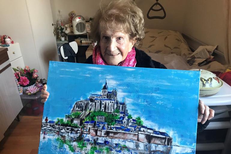 Maryse, 111 ans, a été invitée par le département de la Manche