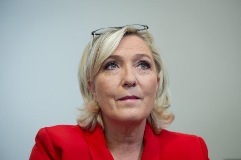 Marine Le Pen, le 25 octobre 2018