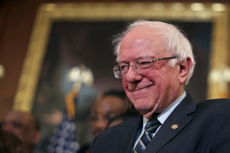Bernie Sanders à Washington, en janvier 2019