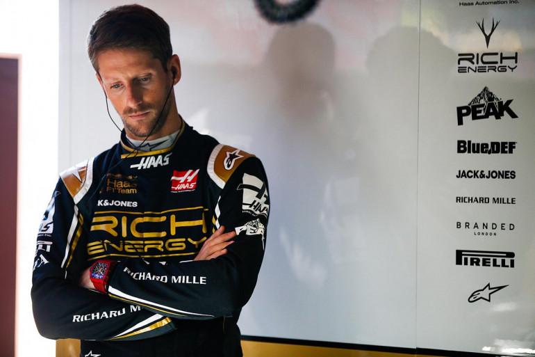 Romain Grosjean en 2019