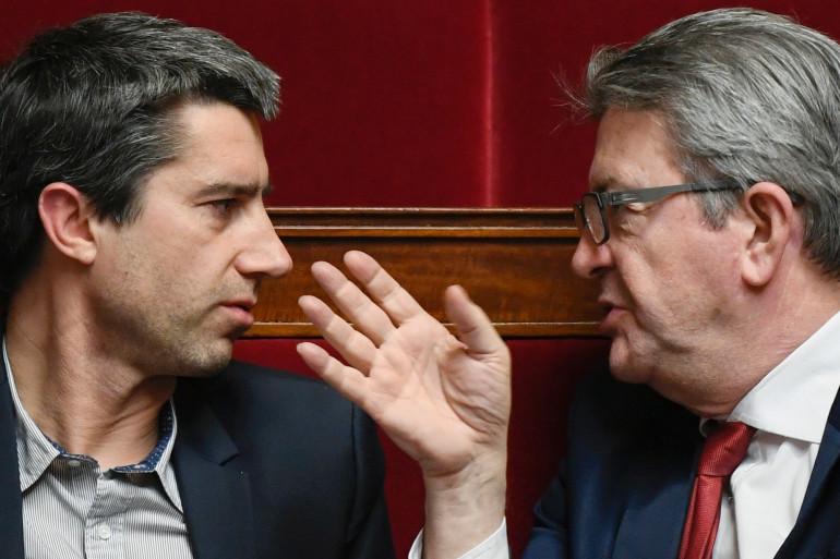 François Ruffin et Jean-Luc Mélenchon, le 5 février 2019