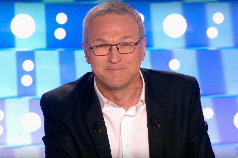 """Laurent Ruquier sur le plateau d'""""On n'est pas couché"""", le 16 avril 2017"""