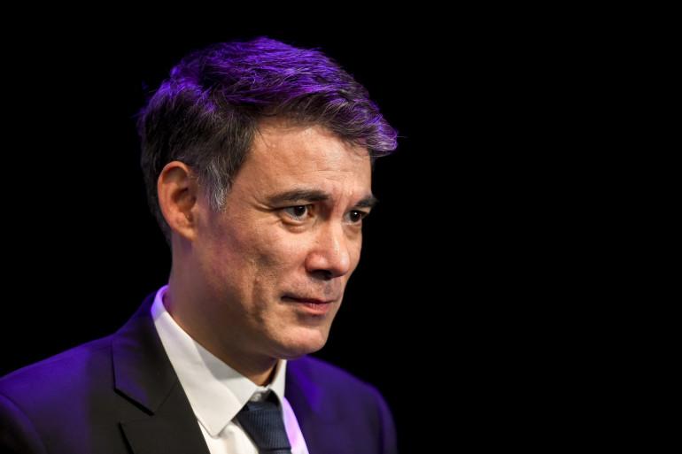 Le premier secrétaire du PS Olivier Faure