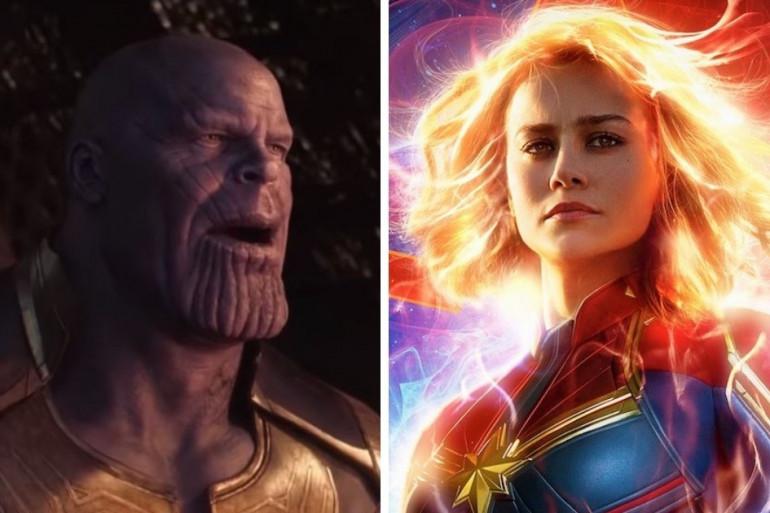 """Thanos sera-t-il assez fort contre Captain Marvel dans """"Avengers 4"""" ?"""