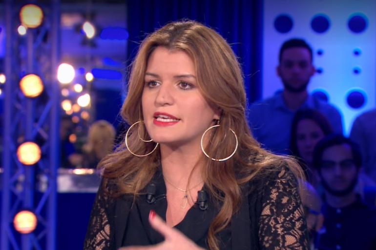 """Marlène Schiappa était l'invitée politique d'""""On n'est pas couché"""" ce samedi 9 mars."""