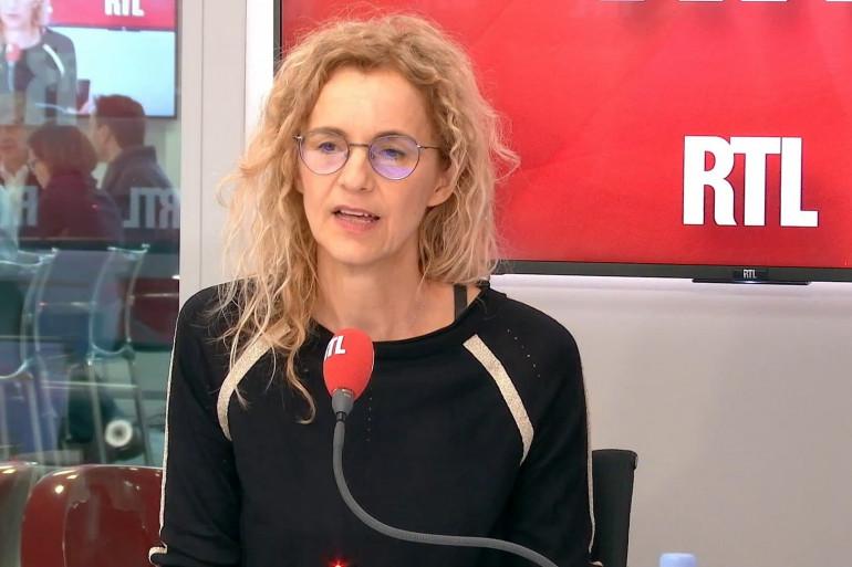 L'auteure Delphine de Vigan, le 11 mars 2019