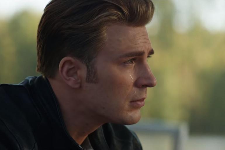 """Chris Evans (Captain America) dans """"Avengers: Endgame"""""""