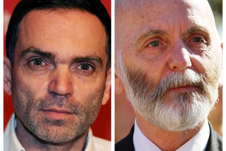 Yann Moix (gauche) condamné en appel pour avoir diffamé Renaud Camus