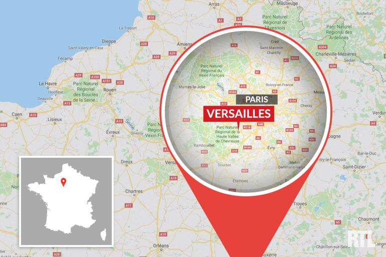 La ville de Versailles dans les Yvelines