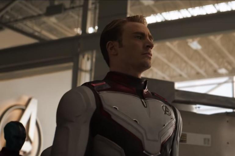 """Captain America (Chris Evans) dans """"Avengers: Endgame"""""""