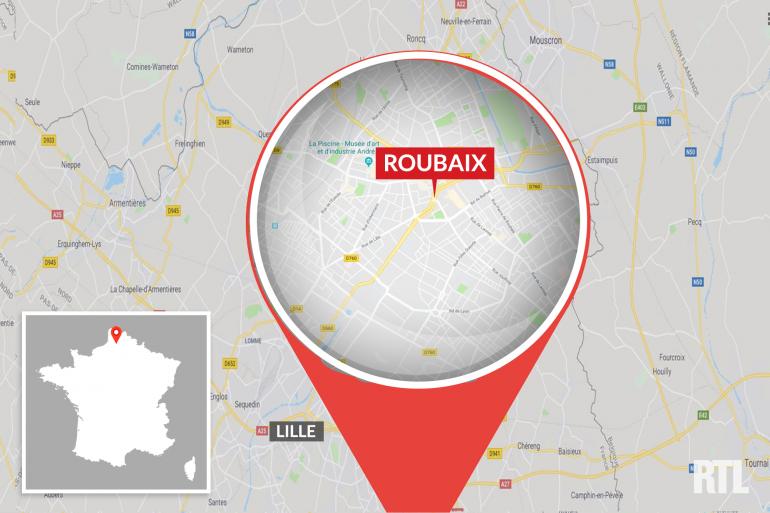 La ville de Roubaix dans le Nord
