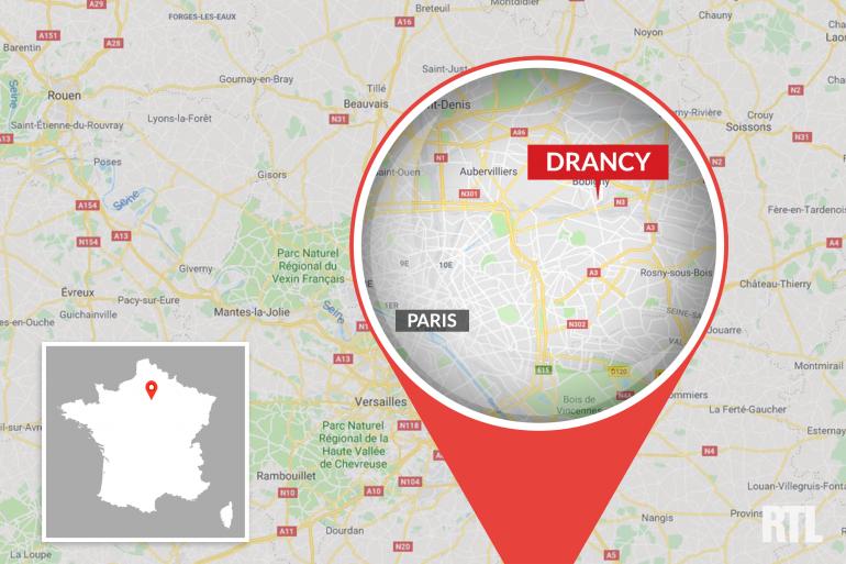 La ville de Drancy, en Seine-Saint-Denis
