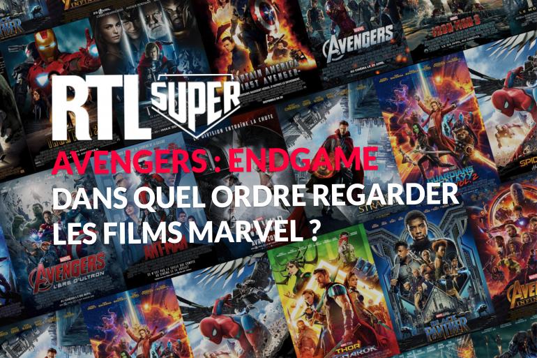 """Dans quel ordre regarder les films Marvel avant la sortie d'""""Avengers 4"""" ?"""