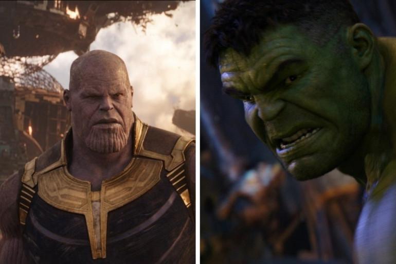 """""""Avengers 4"""" pourrait être marqué par le nouveau combat entre Thanos et Hulk"""