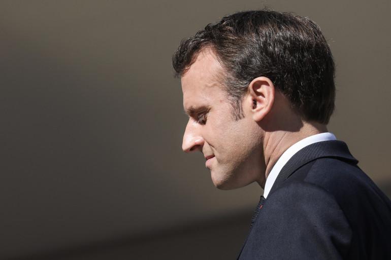 Emmanuel Macron à Glières le 31 mars 2019