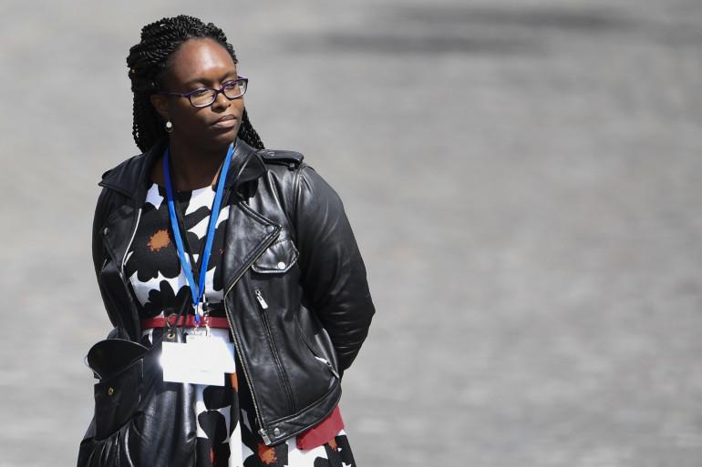 Sibeth Ndiaye, porte-parole du gouvernement, le 14 mai 2017 à Paris
